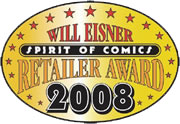 Eisner Retailer of the Year Award