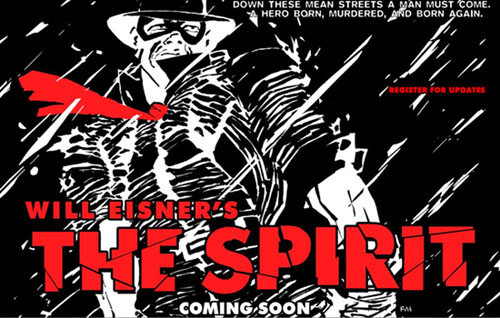 The Spirit movie web site